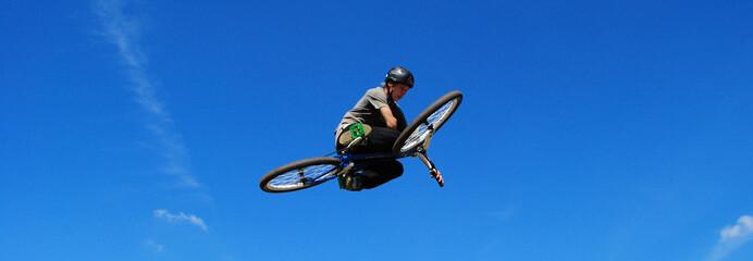 Bike Jump - Overhead