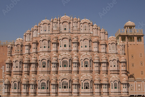 Hawa Mahal or Palace of the Winds in Jaipur, Rajasthan, India