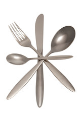 Cutlery include clipping path