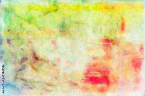 Fototapeta Abstract Watercolor Grunge