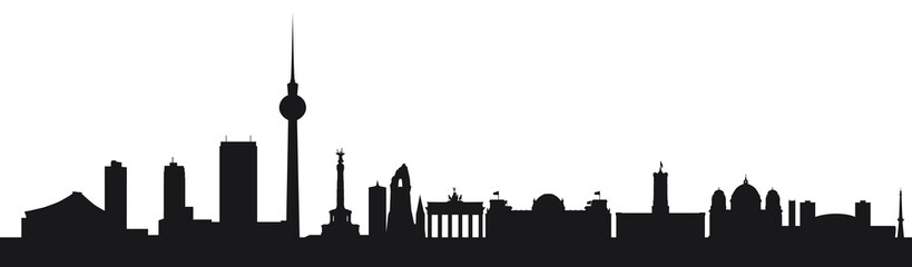 Vektor Skyline Berlin