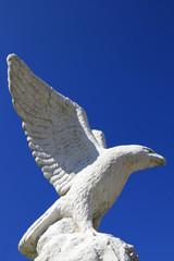 Adler aus Stein