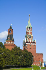 Spasskaya tower of Moscow Kremlin