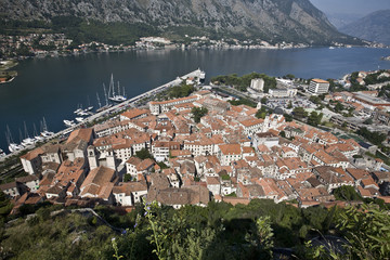 Kotor: bird's-eye view.
