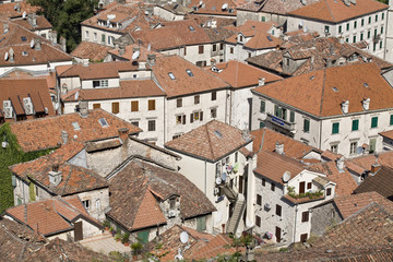 Houses in Kotor.