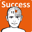 A psychology model - the success section of the brain