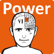 A psychology model - the power section of the brain