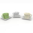 3d blank cups