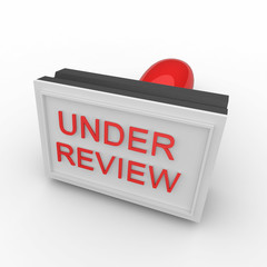 3d rubber stamp under review