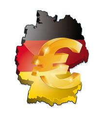 L'euro en Allemagne