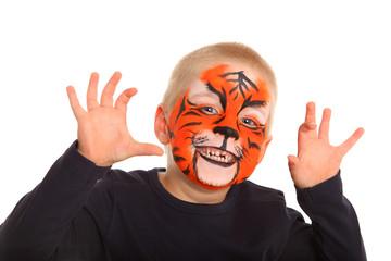 strahlender Tiger