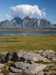Lofoten coastal landscape