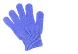 Exfoliating glove poster