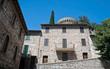 Historic house. Spello. Umbria.