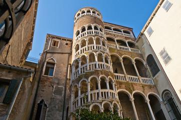 Contarini del Bovolo Palace at Venice, Italy