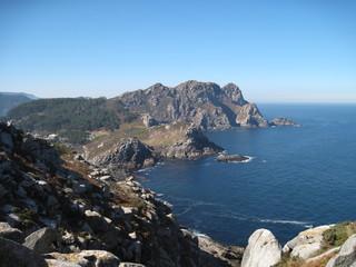 Litoral de Galicia, las islas Cies