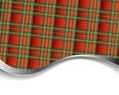 Background with red tartan