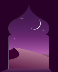Magic arabian night