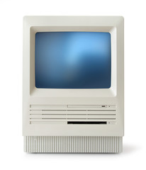 Classic computer front