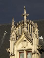 Palacio de los arzobispos del Sens en Paris
