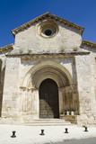 Church of San Miguel, Romanesque transition, thirteenth century. poster