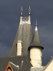 Palacio de los arzobispos en Paris