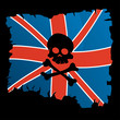 Britannic pirate flag
