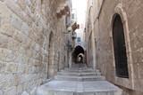 Ancient Alley in the Jewish Quarter, Jerusalem, Israel - 25811302