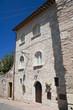 Historic Palace. Assisi. Umbria.