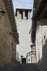Municipal Tower. Corciano. Umbria.