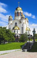 Savior on Blood Cathedral in Ekaterinburg, Russia