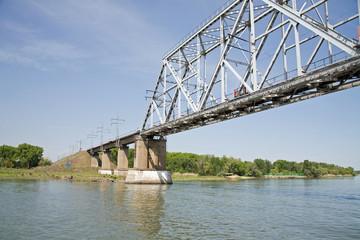 Bridge across the river  Don