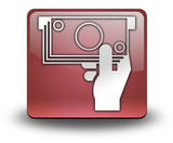 Red 3D Effect Icon