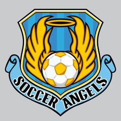 signet fussball engel