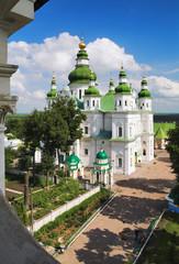 Cathedral in Eletskiy Assumption monastery in Chernigov