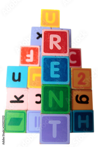 rent in toy blocks