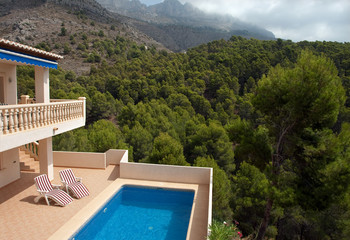 Luxurious villa in southern Spain