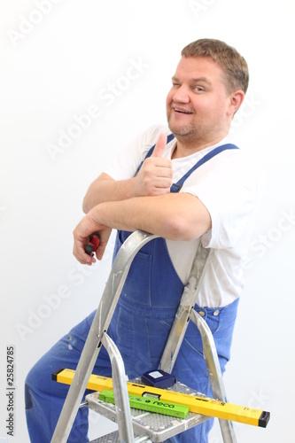 Handwerker Hausmeister