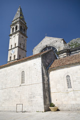 St. Nicholas Church in Perast (fragment)