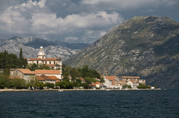 Kotor bay: fragment.