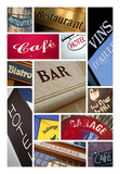 Commerce magasin enseigne logo symbole poster