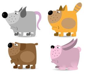 Domestic animals set