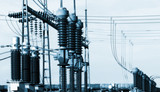 Electrical substation poster