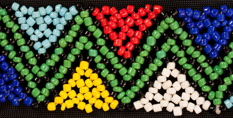 bead work african
