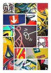 Graffiti tag art urbain peinture artiste graphique