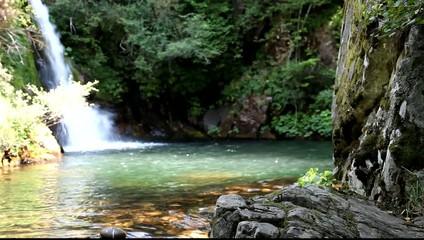 Cascada de Forfogones (Cofiñal,Leon)