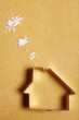 Kekshaus mit Mehlwolken - 25837346