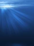 Fototapety Resplandor bajo el mar