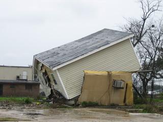Dégats de l'oragan Katrina, nouvelle Orléans