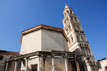 cathedral of st Dominus, Diocletian's Palace, Split